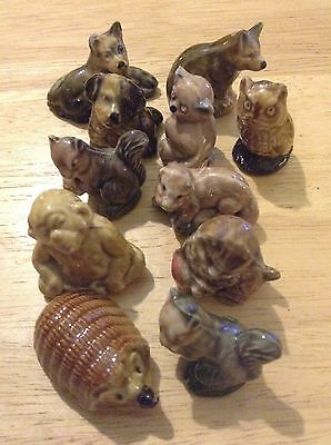 wade whimsies Job Lot Of 11