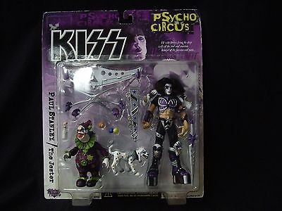 Kiss Psycho Circus Paul Stanley & The Jester Ultra Action Figure 1998 Mcfarlane