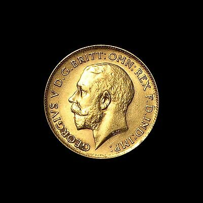1913 George V Gold Half Sovereign, London Mint, EF