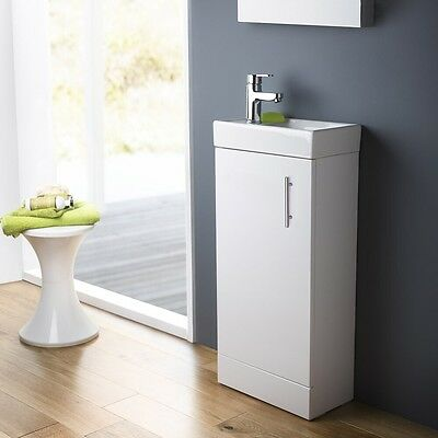 Premier - Minimalist Compact Floor Standing Basin (Free Shipping or Collect)