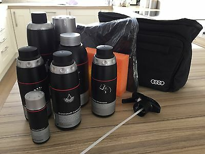 Audi car wash kit with bag - brand new, excellent condition.