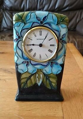 Moorcroft Mantle  Clock