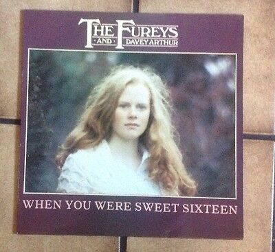 """THE FUREYS """"WHEN YOU WERE SWEET SIXTEEN"""" LP '82 RITZ RECORDS UK 1st pres /NrMINT"""