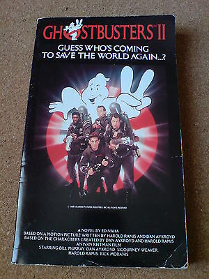 Ghostbusters 2 - Novel By Ed Naha - Paperback