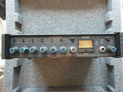 Shure M367 - Six Channel Microphone Mixer
