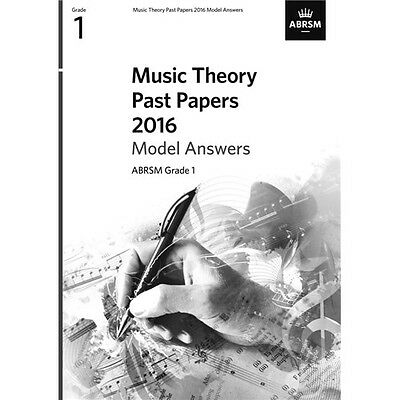 ABRSM Music Theory Past Papers 2016 Model Answers: Grade 1. Book
