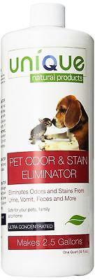 Unique Natural Products Pet Odor and Stain Eliminator Concentrated 32-Ounce