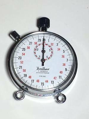 Vintage HanHart 7 jewels shockproof stop watch made in Germany