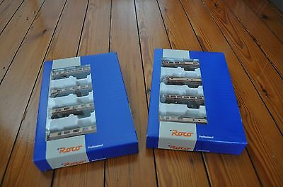 "ROCO 23101 N Scale Gauge Train 2 Coffret Set TRIEBWAGENZUG VT602 DB OVP ""IJ361"""