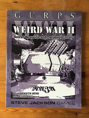 GURPS Weird War II - WWII - Steve Jackson Games - RPG - Role Playing Game