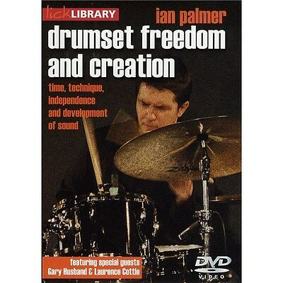 Lick Library: Drumset Freedom and Creation - Ian Palmer DVD (Region 0)