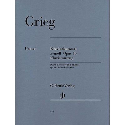Edvard Grieg: Piano Concerto In A Minor Op.16 (2 Pianos). Two Pianos Sheet Music