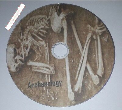 Archaeology UK History, 90 + pdf ebooks on 1 disc for PC and kindle readers