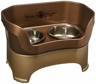 Neater Pet Brands 100-231-CT Deluxe Pet Bowl for Large Dogs Bronze