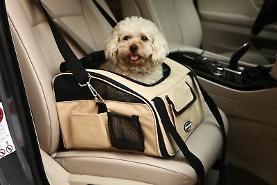 WOpet Pet Car Seat Carrier Airline Approved For Dog Cat Puppy Small Pets Trav...
