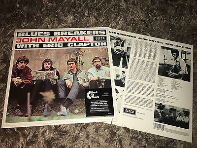 John Mayall With Eric Clapton - Blues Breakers - Sealed 180g Vinyl LP
