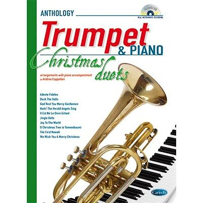 Anthology Christmas Duets for Trumpet & Piano. Sheet Music, CD