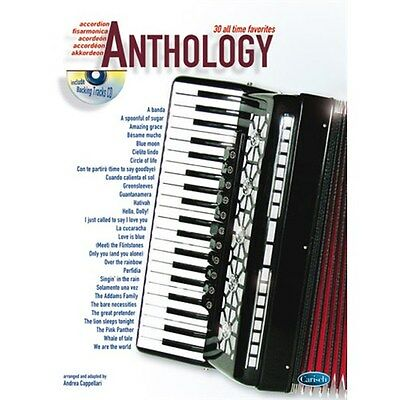 Anthology (Accordion), Volume 1. Sheet Music, CD