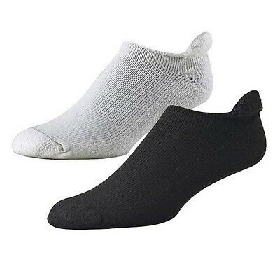 FootJoy Comfortsof Roll Top Mens Socks BLACK - 1 Pr Shoe Size 7-12