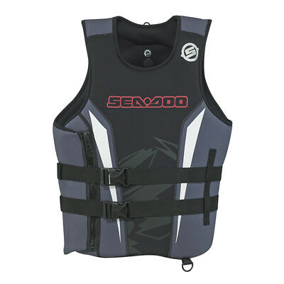 Sea-Doo Neoprene Force Pullover PFD- Life Jacket Vest -Red