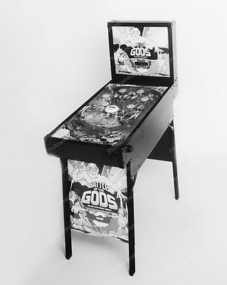 "Coleco Battle Of The Gods Pinball 1981   8"" - 10"" B&W Photo Reprint"