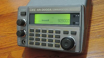AOR AR-3000A + DC Power supply  Unblocked