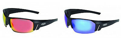 Shatterproof G-Tech Tinted Glasses-Motorcycle/Biker Sunglasses/Wraps+Free Pouch