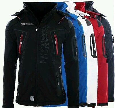 Geographical Norway chaqueta Softshell De Hombre lluvia sport Outdoor