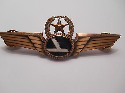 Eastern Air Lines Pilot Captain Star & Wreath Wing