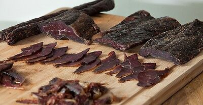 Tastiest Sliced Beef Biltong 125g - 1kg Original, Kalahari, Garlic Pepper Chilli
