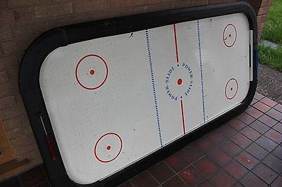 7ft Air Hockey Table, 2 pucks, and 2 pushers