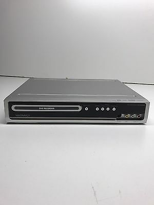 Magnavox ZC320MW8 DVD Recorder Player Silver No Remote