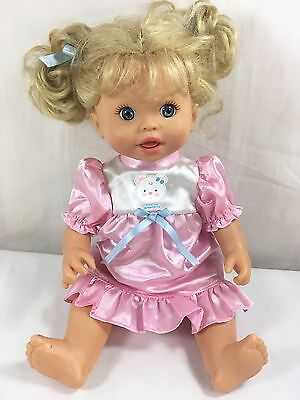 """Little Mommy Doll Gotta Go Potty Interactive Talking 13"""" Fisher Price Doll Only"""