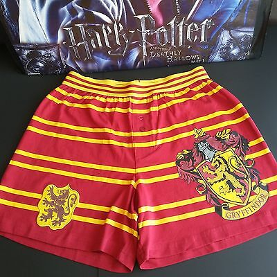 New Universal The Wizarding World of Harry Potter Gryffindor Stripe Boxer