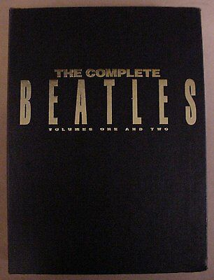 The Complete Beatles Song Book Volume One & Two in Slipcase Piano-Vocal-Guitar