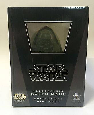 Gentle Giant Holographic Darth Maul Star Wars bust no sideshow , attakus