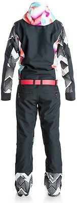 Roxy Pop Snow Impression Women's Ski/Snowboard Suit, S, True Black