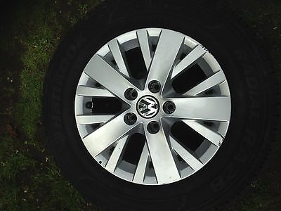 VW T5.1 Highline alloy wheels and tyres