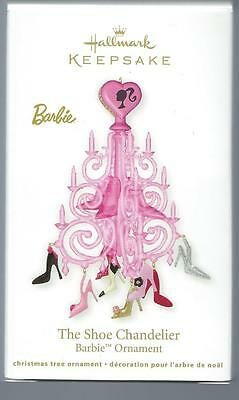 "Hallmark 2012 ""THE SHOE CHANDELIER"" Barbie Ornament - New"
