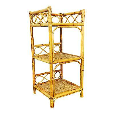Lovely Vintage Bamboo Shelf