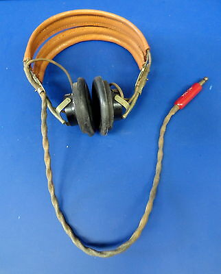 Army Air Forces Hs-33 Pilot Headset W/anb-H-1 Receivers