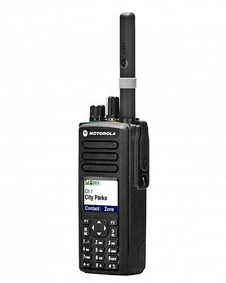 Mototrbo Dp4801 Vhf Dmr Digital Portable Two Way Radio