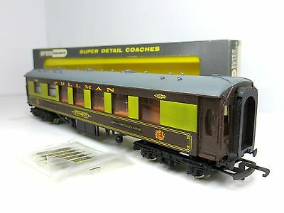 "Wrenn W6012 Oo Gauge Pullman Golden Arrow 1St Class Coach ""pegasus"" Boxed"