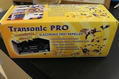 Transonic Pro Bird-X Electronic Pest Repeller new in box  commercial quality