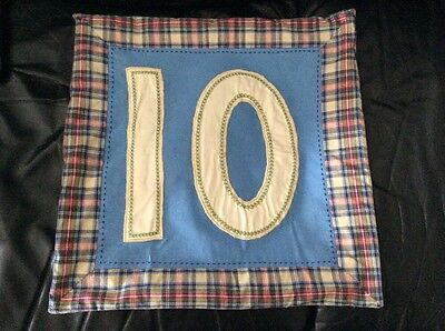 pottery barn kids pillow cover N 10  16 X 16