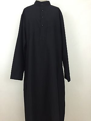 SunnahWay Stylist Arabic Jubba Thobe Islamic Muslim Men Thawb Robe Dress