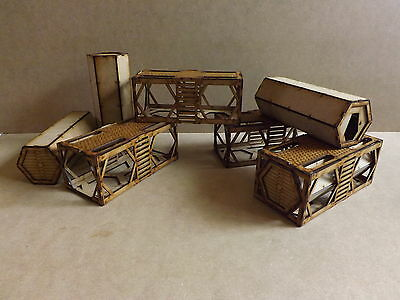 Iso Containers scenery warhammer 40k wargame Infinity wargaming building terrain