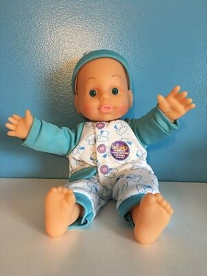 Baby Doll Talks Real Baby Sounds 10.5 Inch Talking Tall Toy Boy Girl