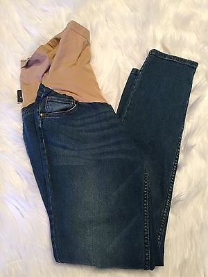 NEW Oh Baby By Motherhood Maternity Jeans Women's M (8-10) Distressed Skinny