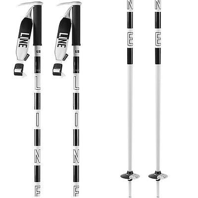 LINE Pin Pair Of Ski Poles, 105cm, White